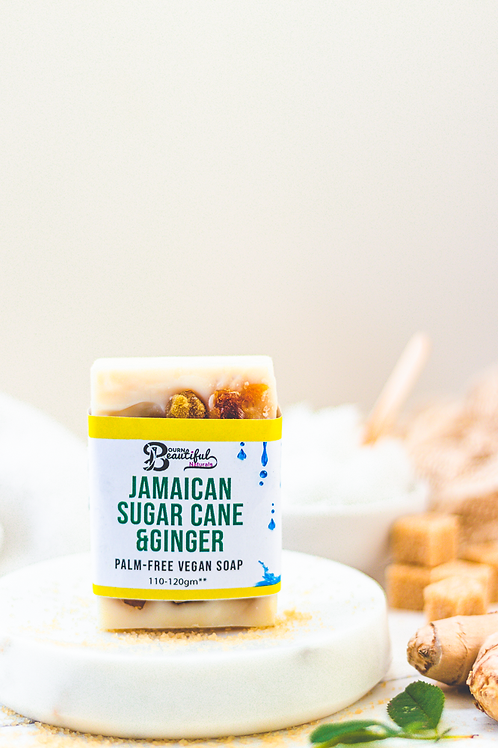 Jamaican Sugarcane & Ginger SFSC Vegan Soap (Limited Edition)