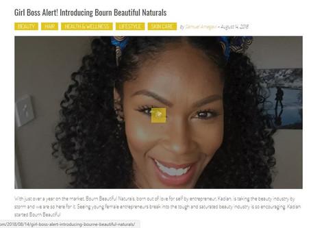 #GirlBoss Feature in Glam Africa Magazine!