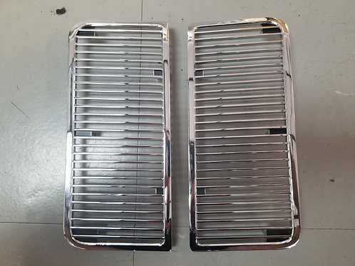1968 - 69 Chevelle SS Hood Louvers (pair)