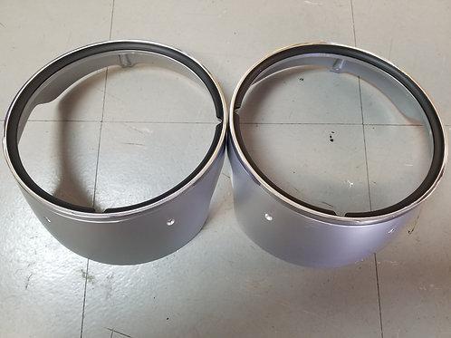 1969 Camaro Headlight Bezels (pair)