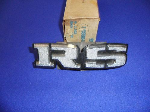 RS Grille Emblem