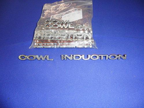 Cowl Induction Emblem