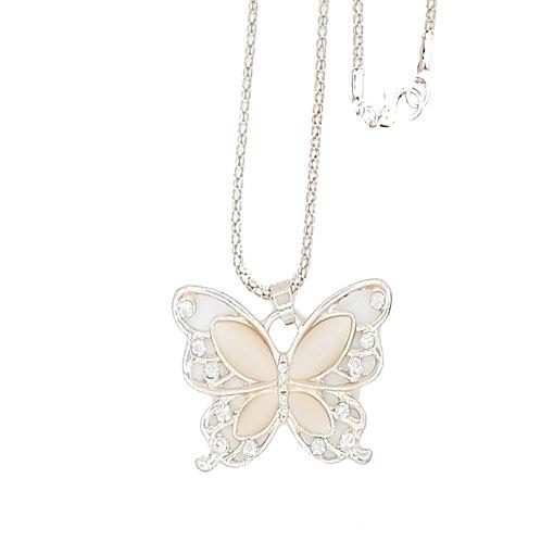 Schmetterlingskette rosegold