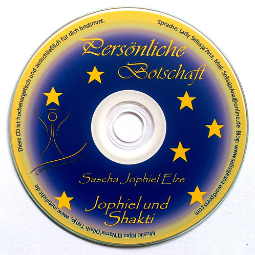 Persönliche Botschaft deiner Ursprungseltern auf CD