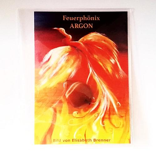 Schmuckkarte Feuerphönix 'ARGON'