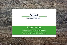 Visitenkarten drucken Aachen Druckerei
