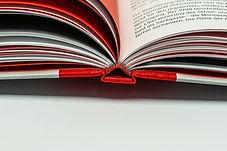 Bücher Hardcover drucken Aachen Druckerei Kapitalband