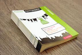 Broschüren Hefte drucken Aachen geheftet