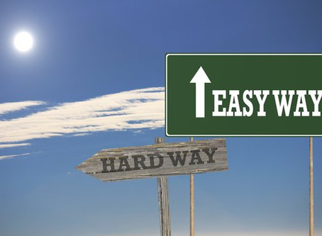 Choose the easy road!