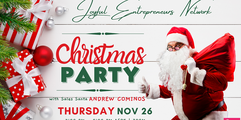 Joyful Entrepreneurs Network Annual Christmas Party