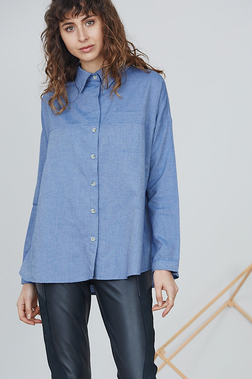 OVERSIZE SHIRT WITH BUTTONS