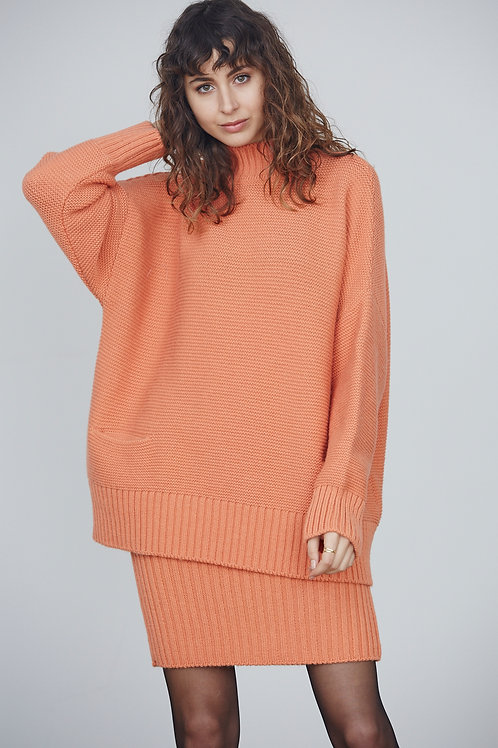 KNIT JERSEY WITH POCKETS