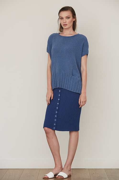 KNIT SWEATER WITH POCKETS
