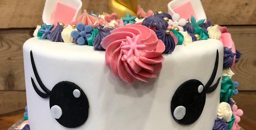 Gâteau enfant licorne