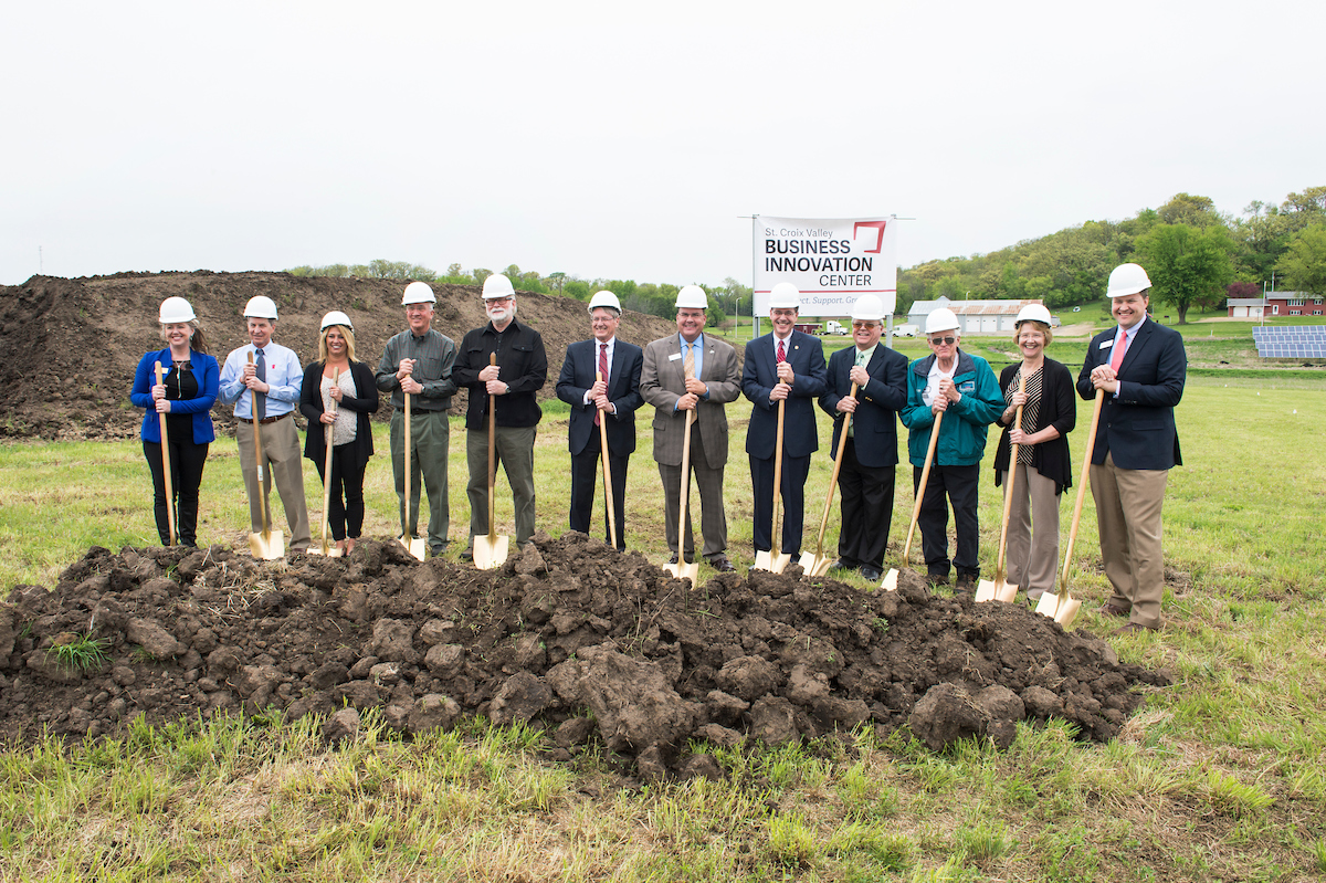 St Croix Valley Business Innovation Center Groundbreaking 05102017 kmh 9