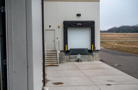 Loading Dock and Rear Entrance