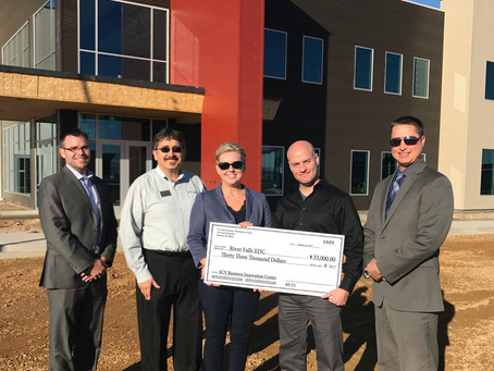 St. Croix Economic Development Corporation donates $33,000 to Business Innovation Center