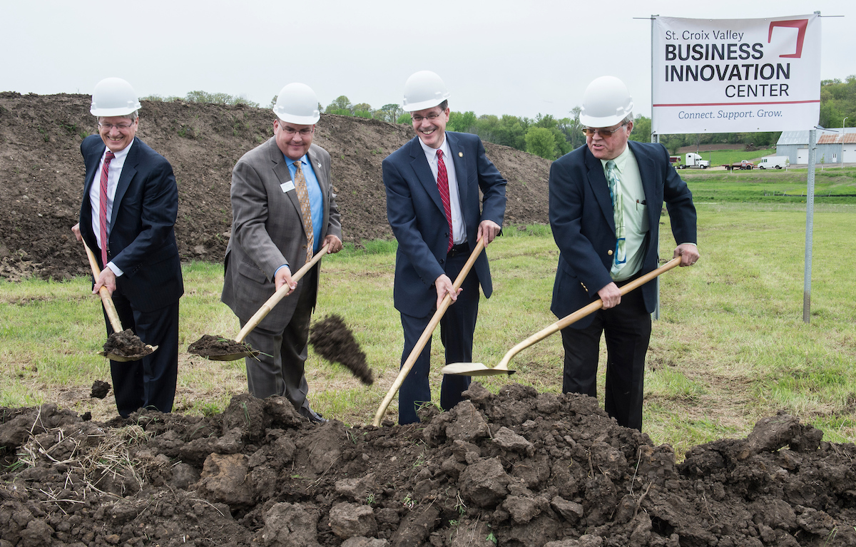 St Croix Valley Business Innovation Center Groundbreaking 05102017 kmh 6