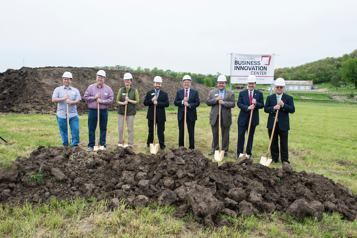St Croix Valley Business Innovation Center Groundbreaking 05102017 kmh 8