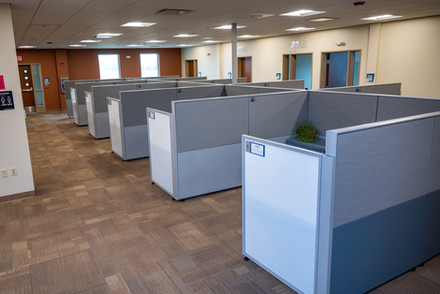 Workstations area