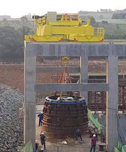 Ponte Rolante 50/5 toneladas.