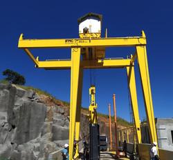 Pórtico Rolante 20 toneladas.