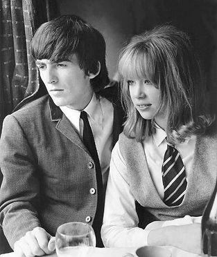 George Harrison Patti Boyd_A Hard Day's