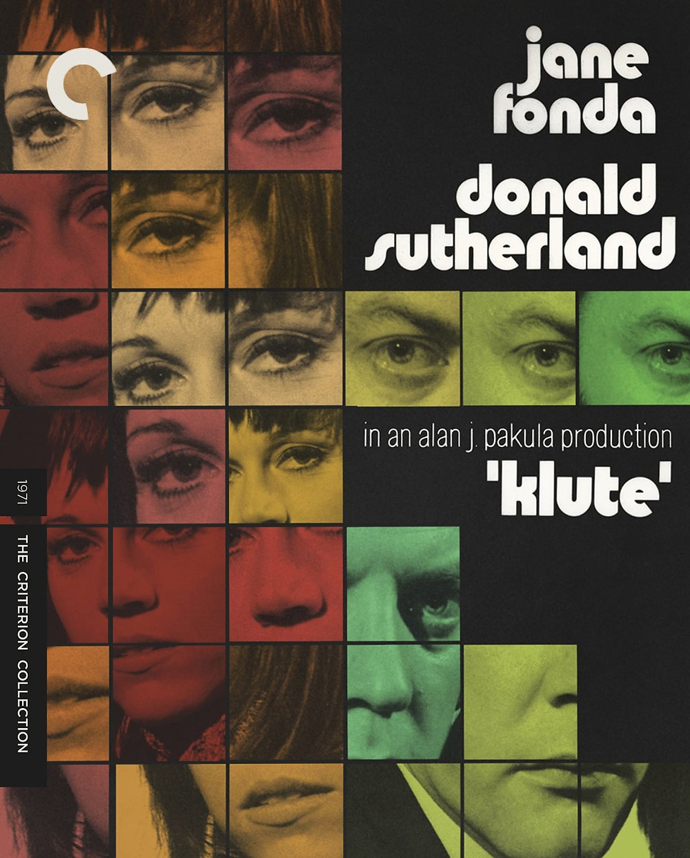 Jane Fonda in Klute new DVD