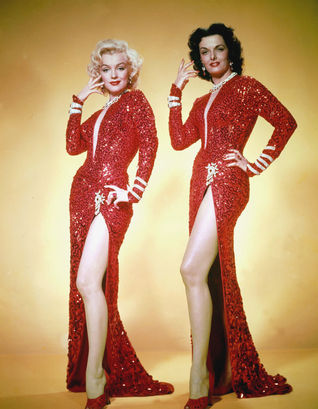 Gentlemen Prefer Blondes Publicity Photo