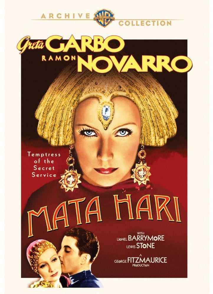 Greta Garbo in Mata Hari new DVD