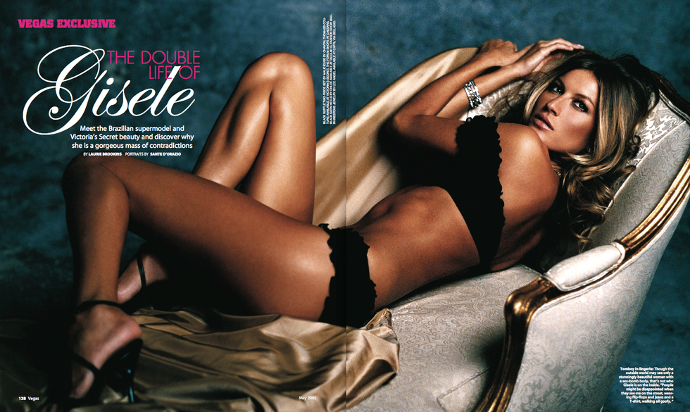 An interview with Gisele Bundchen for Vegas magazine.
