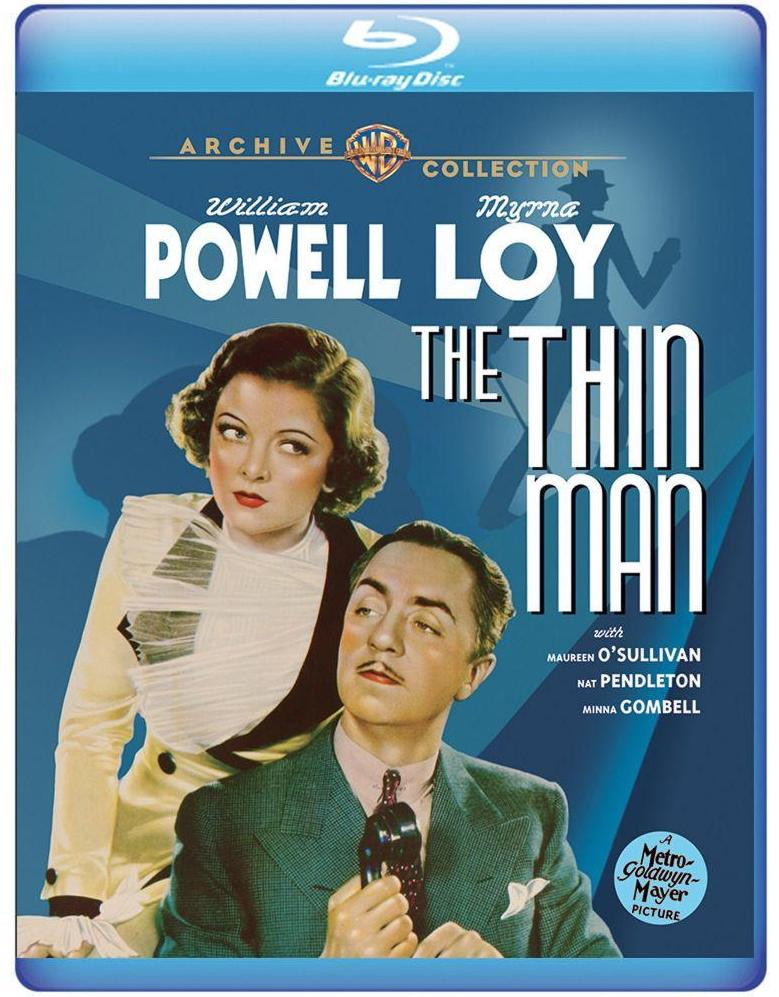 The Thin Man Myrna Loy William Powell new DVD