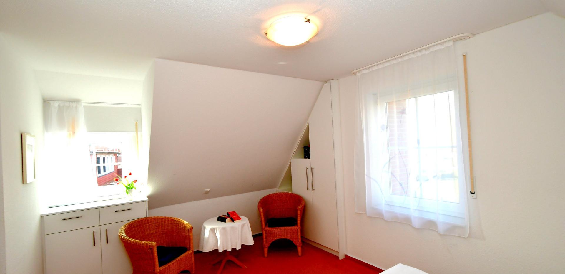 Schlafzimmer Sitzecke