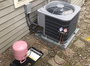 air conditioner charging refrigerant r41