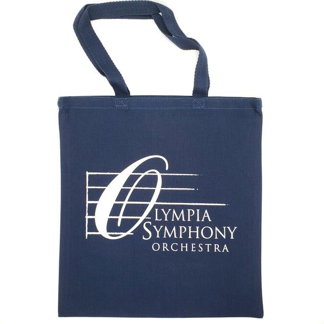 Blue OSO Logo Tote Bag