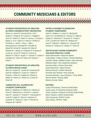 Community Musicians & Editors