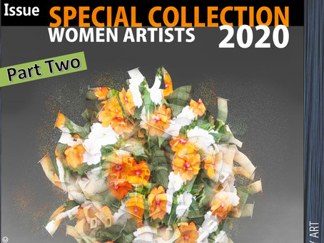 Special Art Collection of 44DEGREES online art magazine.2020 PART TWO