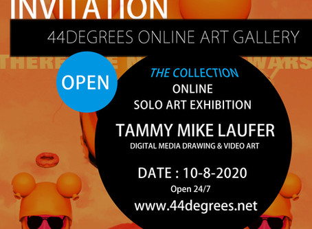 We have opened the new virtual gallery on the 44DEGREES website