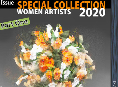 Special Art Collection of 44DEGREES online art magazine. 2020 PART ONE