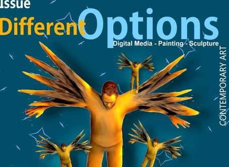 The new issue of the 44 DEGREES online arts magazine.  'Different options'
