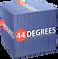 44DEGREES box logo