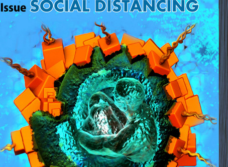NEW! From 44DEGREES online art magazine.The subject of this issue is SOCIAL DISTANCING