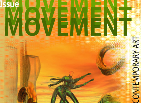 MOVEMENT - The new issue of the   44DEGREES online arts magazine