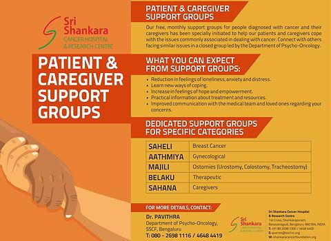 Shankara Cancer Hospital Patient Support Groups