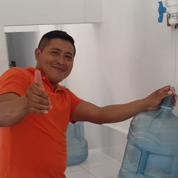Filling jugs