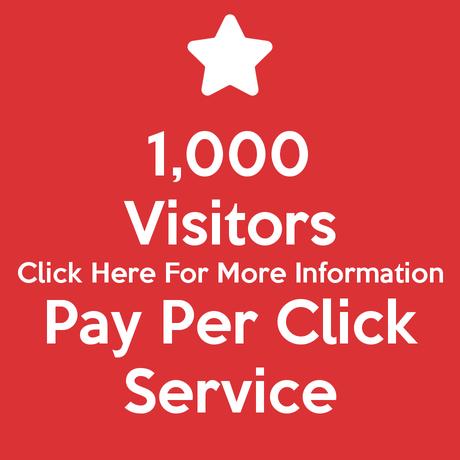 1,000 Visitors Pay Per Click Service