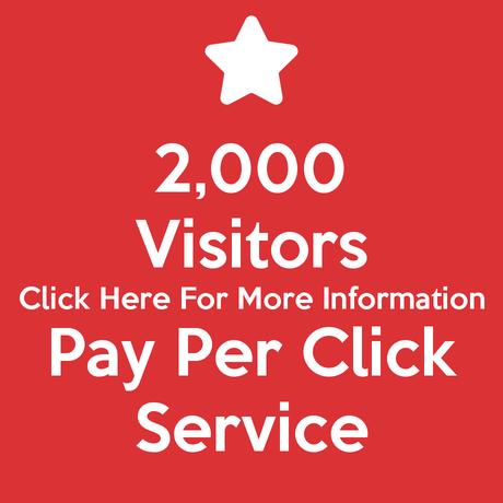 2,000 Visitors Pay Per Click Service