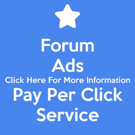 Forum Ads Pay Per Click Service