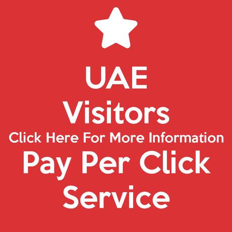 UAE Visitors Pay Per Click Service