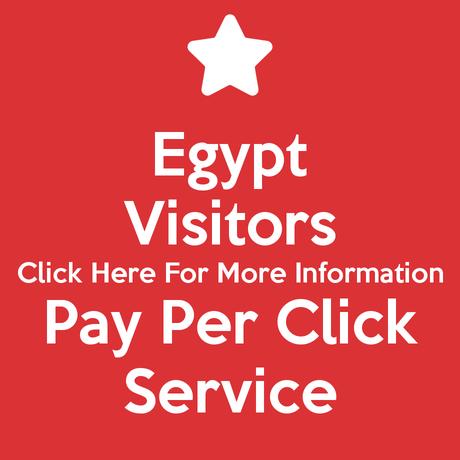 Egypt Visitors Pay Per Click Service